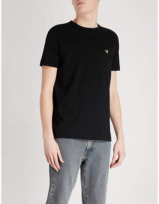 True Religion Metallic-logo cotton-jersey T-shirt