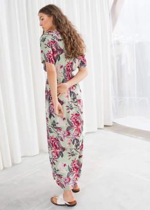 Twist Knot Kaftan Maxi Dress