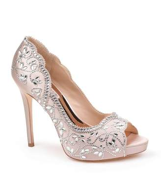 Badgley Mischka Valentina Peep Toe Pump