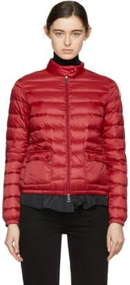 Moncler Red Down Lans Jacket