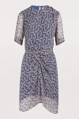 Etoile Isabel Marant Barden silk dress