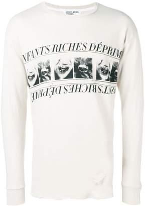 Enfants Riches Deprimes logo print sweatshirt