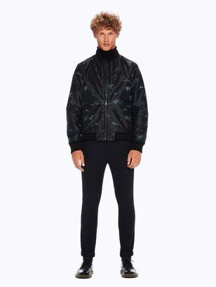 Scotch & Soda Jacquard Bomber Jacket