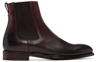 Paul Smith Burgundy Joyce Chelsea Boots