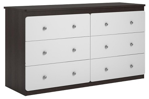 Cosco Cosco Willow Lake 6 Drawer Dresser