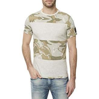 Buffalo David Bitton Men's Kimmel Short Sleeve Crewneck Graphic Fashion T-Shirt