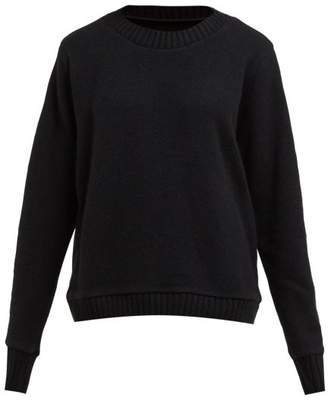 The Elder Statesman Reg Forest Intarsia Cashmere Sweater - Womens - Black Multi