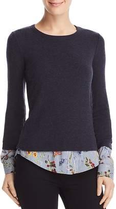 Bailey 44 Green Thumb Layered-Look Sweater