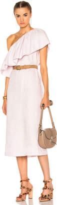 Mara Hoffman One Shoulder Mini Dress $325 thestylecure.com