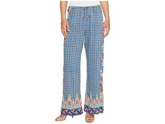 Hale Bob Sunshine Daze Rayon Woven Pants Women's Casual Pants
