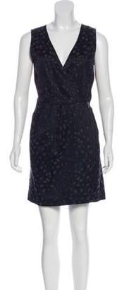 Marc Jacobs Embroidered Mini Dress w/ Tags Navy Embroidered Mini Dress w/ Tags