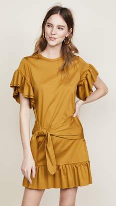 Scotch & Soda/Maison Scotch Ruffle Wrap Dress
