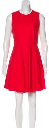 RED Valentino Pleated Mini Dress