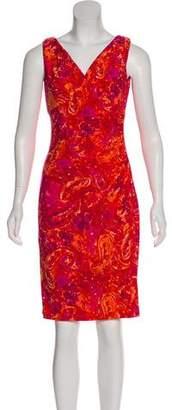 Lauren Ralph Lauren Floral Sleeveless Knee-Length Dress