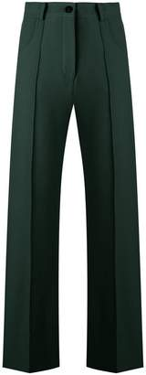 Roberto Collina cropped flared trousers