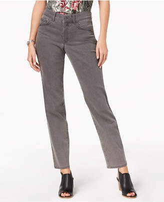 Style&Co. Style & Co Petite Straight-Leg Ankle Jeans, Created for Macy's