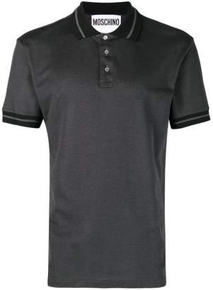 Moschino logo polo shirt