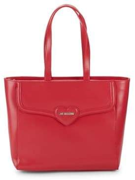 Love Moschino Heart Bombe Tote Bag