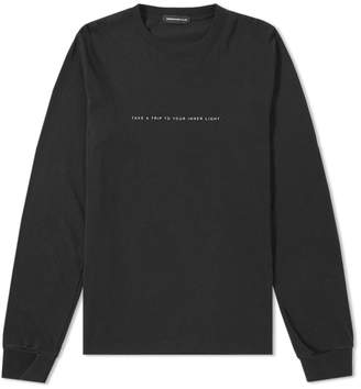 Undercover Take A Trip Long Sleeve Zip Tee