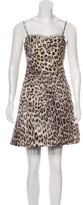 Yoana Baraschi Sleeveless Printed Dress