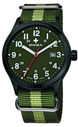 Swiza Men's WAT.0251.1102 Kretos Analog Display Swiss Quartz Watch