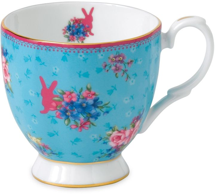 Royal Albert Candy Honey Bunny Vintage Mug