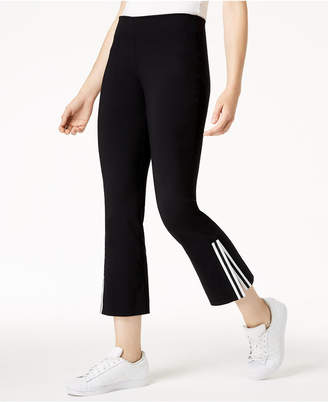 Bar III Cropped Kick-Flare Pants, Created for Macy's
