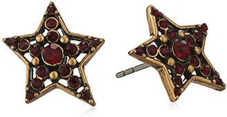 "Marc Jacobs Fall 2016"" Pave Star Stud Earrings"