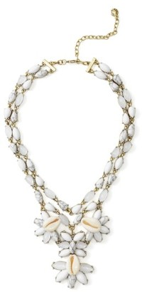 Women's Baublebar Malana Shell Statement Necklace $46 thestylecure.com