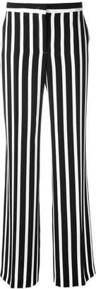 Alberta Ferretti striped wide leg trousers