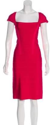 Herve Leger Knee-Length Bandage Dress w/ Tags