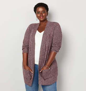 Avenue Cable Pocket Cardigan