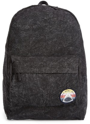 Billabong 'Hand Over Love' Backpack - Black $44.95 thestylecure.com