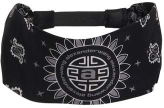 Alexander Wang Asian Print Cotton Bandana Headband