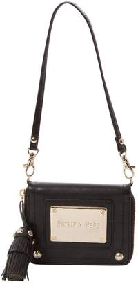 Patrizia Pepe Leather clutch bag