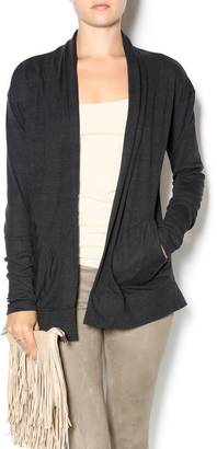 Alternative Apparel Wrap Cardigan $48 thestylecure.com