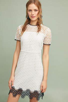 Shoshanna Scalloped Mod Dress