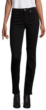 7 For All Mankind b(air) Kimmie Straight-Leg Jeans $169 thestylecure.com