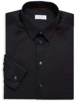 Eton Basic Cotton Dress Shirt