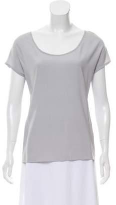 Ramy Brook Silk Short Sleeve Top