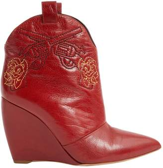Nicholas Kirkwood Leather cowboy boots