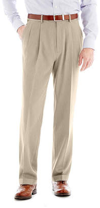 STAFFORD Stafford Travel Endurance Pleated Dress Pants
