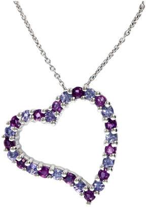 Effy Fine Jewelry 14K 0.85 Ct. Tw. Amethyst & Tanzanite Necklace