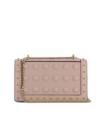 Balmain Pink Leather Shoulder Bag