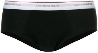DSQUARED2 logo band briefs