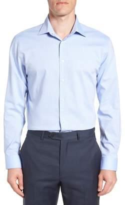 Nordstrom Tech-Smart Trim Fit Stretch Stripe Dress Shirt