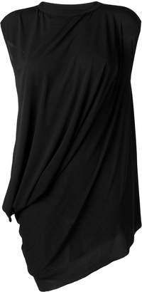 Rick Owens Lilies draped long-line top