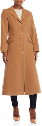 Lauren Ralph Lauren Wool Maxi Reefer Coat