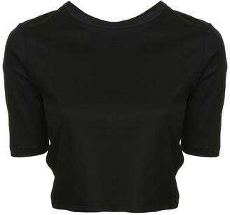 Dion Lee twist back cropped T-shirt