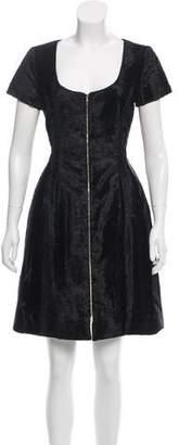 Prabal Gurung Velvet A-Line Dress